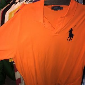 Authentic Large Logo Polo